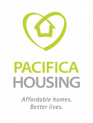 Pacifica Housing Logo and Tag Line